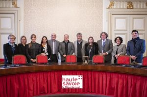 Hommage au conseil départemental de Haute Savoie